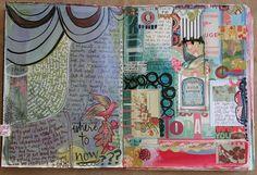 journal spread by pam garrison