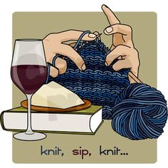 """Knit Sip Knit"" – Perfect!"