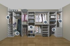 Resultado de imagen de wardrobe storage solutions for small bedrooms