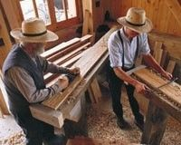Inside an Amish Furniture Woodworking Shop: Tour Millcraft
