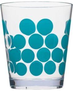 Dot Set of 6 7-oz. Juice Glasses