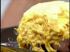 Lasanha de Frango com Leite de Coco - Foto de Mais Você na TV