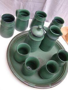 Green set - Assessment by ~M-A-Ceramics on deviantART