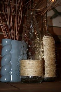 can wrap my bottle in twine