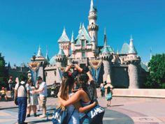 LMU AXO sisterhood at Disneyland
