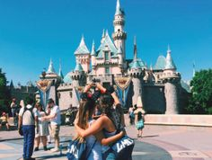 LMU AXO sisterhood at Disneyland