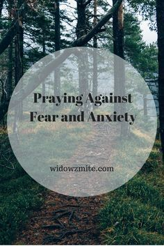 We all deal with fear and anxiety; here are some ideas for how to pray against fear and anxiety in your own life and in the life of you children. Anxiety Relief, Prayer For Stress, Natural Supplements For Anxiety, Prayer And Fasting, Understanding Anxiety, Overcoming Anxiety, Fight Or Flight