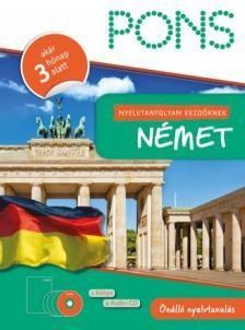 Klett - NYELVTANFOLYAM KEZDŐKNEK - NÉMET (KÖNYV+4CD) German, Deutsch, German Language