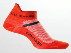 Icebreaker's breathable, odor-resistant Merino wool socks provide all-day, warm weather foot comfort.