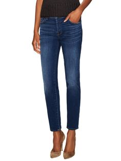 7 for All Mankind Josephina Denim Grind Squiggle Ankle Jean