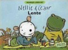 Lente. Nellie en Cezar gaan in de lente samen picknicken. Hardkartonnen prentenboek met zachtgekleurde tekeningen en tekst op rijm, raadselversjes en vertelplaten. Vanaf ca. 2,5 jaar.