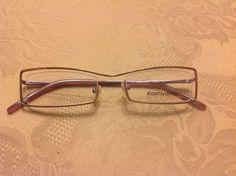 1f6a1fbd60e4 Kashiyama BI-33 Designer Eyeglasses Frame. Unique Suspended Rimless Stylish  Look  eyeglasses  glasses  unique  style