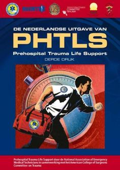 Pons, Peter P. De Nederlandse uitgave van PHTLS: prehospital  trauma life support. Plaats VESA 616.083.98 NEDE