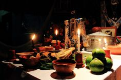 The celebration of Day of the Dead among the Yucatecan Maya is called Hanal Pixan. There are some traditions that are particular to this area.