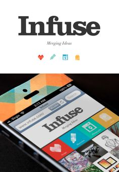 Infuse Mobile Website - University Assignment #appdesign #graphicdesign #UX #UI #ios #uxdesign #uidesign #app