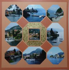 Created by Marion Wichael using Lea France Octagons stencil