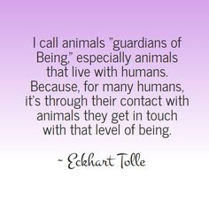 The wisdom of Eckhart Tolle - Guardians of Being
