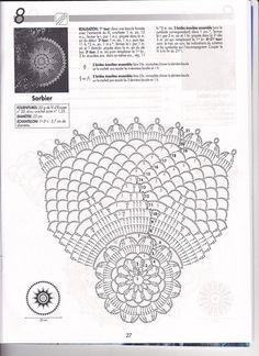 Best 12 Crochetpedia: Crochet Women's Wear Tops with Patterns – SkillOfKing. Crochet Doily Diagram, Crochet Doily Patterns, Crochet Mandala, Crochet Chart, Thread Crochet, Filet Crochet, Crochet Doilies, Crochet Lace, Dream Catcher Patterns