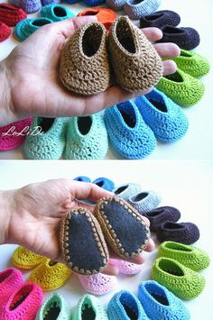 18 inch doll crochet shoes shoes for 18 dolls hand by LoLiDo