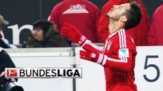 Bayern Munich's Thiago Alcantara Scores Wonder Goal in the Final Seconds...