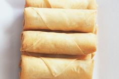 #Vegetable spring #rolls : Ingredients      100g packet vermicelli noodles     1 tablespoon peanut oil     3 green onions, sliced     2 garlic cloves, crushed     1 large carrot, peeled, coarsely grated     1 1/2 cups shredded Chinese cabbage     227g can water chestnuts, drained, roughly chopped     1 tablespoon soy sauce     1/4 teaspoon white pepper     2 teaspoons cornflour http://fredsfruit.com/vegetable-spring-rolls/