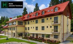 Hotel Jánošík*** v Terchovej Mansions, House Styles, 1, Home Decor, Decoration Home, Manor Houses, Room Decor, Villas, Mansion