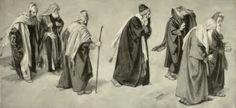 Gebhard Fugel (1863–1939) Altötting, Panorama Kreuzigung Christi Gebhard Fugel Studie zum Panorama Heimkehrende Juden.jpg