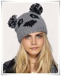 I am a BIG fan of Panda's and have been for some time now. I've spotted a very cute Panda beanie from ASOS . Bonnet Panda, Winter Wear, Winter Hats, Knit Crochet, Crochet Hats, Crochet Flower Tutorial, Bear Face, Cute Hats, Cara Delevingne