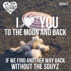 SAN VALENTINO DA RIDERE Valentine's day LOL ©gucki.it  I love you to the moon and back… IF...