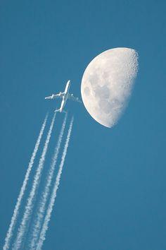 Une super lune prise au Nikon D300s et un 600mm - Copyright Luciano Gallo