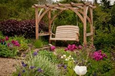 Bespoke Pergola and Arbour Swing Seats UK | Sitting Spiritually - Exclusive Handcrafted Wooden Swing Seats