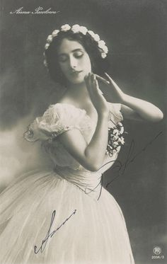 Anna Pavlova ♡ www.theworlddances.com/ #throwback #dance