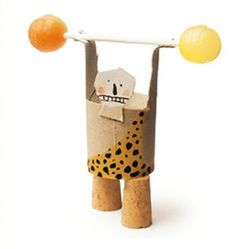 My last post on the fantastic Isidro Ferrer is from his book Creat-tu-circo a book of circus characters that you can make, fun for the . Toilet Paper Roll Crafts, Cardboard Crafts, Paper Crafts, Projects For Kids, Diy For Kids, Crafts For Kids, Clay Projects, Circus Crafts, Craft Activities