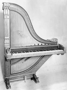 Claviharp  Date: late 19th century Geography: Italy