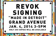 Juxtapoz Magazine - REVOK: Book Signing @ MOCA, January 4, 2014