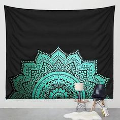 Printed Lotus Tapestry Bohemia Boho Mandala Tapestry Wall Hanging For Wall Decoration Hippie Tapestry Beach Towel Yoga Mat Tapestry Beach, Tapestry Bedroom, Bohemian Tapestry, Indian Tapestry, Tapestry Wall Hanging, Wall Hangings, Colorful Tapestry, Mandala Mural, Mandala Tapestry