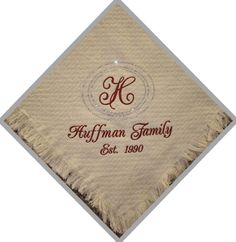Personalized Rhinestone  Wedding or Family Blanket or Throw $75.00