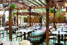 Exceptional choice for brunch or cocktails or any time of day meals.. Italian rustic and high quality www.cecconismiamibeach.com