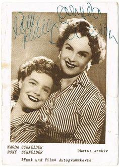 Magda & Romy Schneider