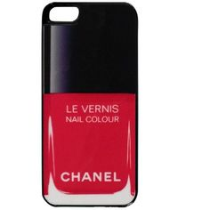 iCoverLover Chanel Le Vernis Red iPhone 5 Case found on Polyvore