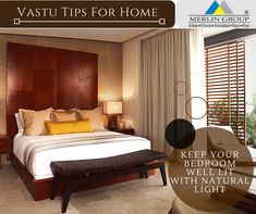 So, To Remain Healthy You Need Right Amount Of Sleep And The Best Place For  This Is Your Bedroom. Keep Your Bedroom Well Lit With Natural Light During  ...