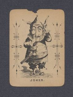 Antiques & Collectibles -- joker Paper Collectibles