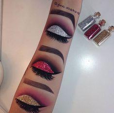 NEVER fails to amaze us at how talented @gina.makeup is #amazingmakeup #makeupart #perfectmakeup