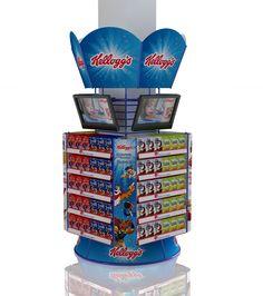 KELLOGGS Exhibición punto de venta on Behance
