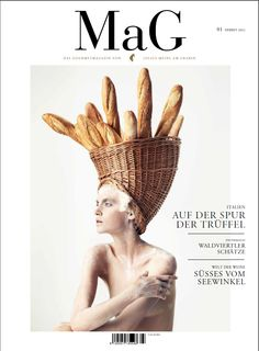"MaG Herbst 2012 - Thema ""Trüffel"" #magazine #magazinecover"