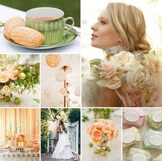 inspiration boars: an english garden wedding tea