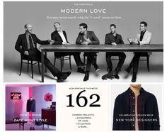 MR.PORTER – MODERN LOVE