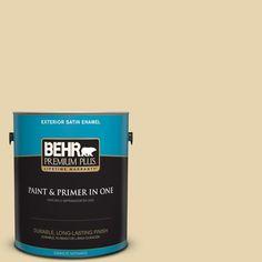 BEHR Premium Plus 1-gal. #360E-2 Castle Stone Satin Enamel Exterior Paint