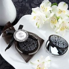 Elegant Mirror Compact Wedding Favor - Party City