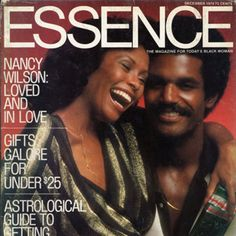 Black Love on ESSENCE Covers Through the Years; Nancy Wilson Finds Love On May iconic jazz singer Nancy Wilson married Presbyterian minister Reverend Wiley Burton and we paid tribute to her happy ending in the December 1974 issue. Ebony Magazine Cover, Magazine Cover Design, Magazine Covers, Black History Facts, Black History Month, Black Love, Black Is Beautiful, Black Art, Black Hair Magazine